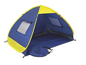 Genji Sports Pop Up Family Beach Tent And Beach Sunshelter by Genji Sports