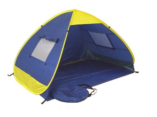 Genji Sports Pop Up Family Beach Tent And Beach Sunshelter, Outdoor Stuffs