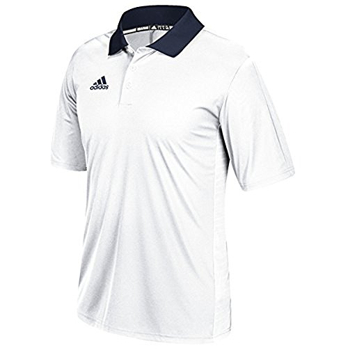 discount 2014 new adidas Game Built Coaches Polo White-collegiate Navy store for sale buy cheap wiki cheap sale for sale uLipZd