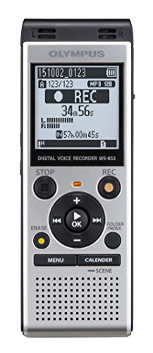 Olympus Digital Voice Recorder WS-852, Silver