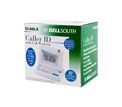 Id Caller Large Display Box - Bell South Caller ID Name and Number (CI-88LX)