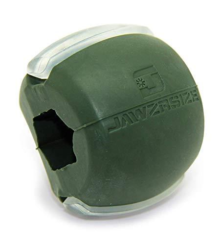 Jawzrsize フェイストナー、ジョーエクササイザ、ネックトーニング装置 (50 Lb. 抵抗) レベル3 - ミリタリーグリーン