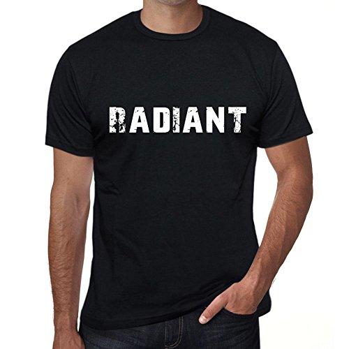 Men's Vintage Tee Shirt Graphic T Shirt Radiant 4X-Large Black ()