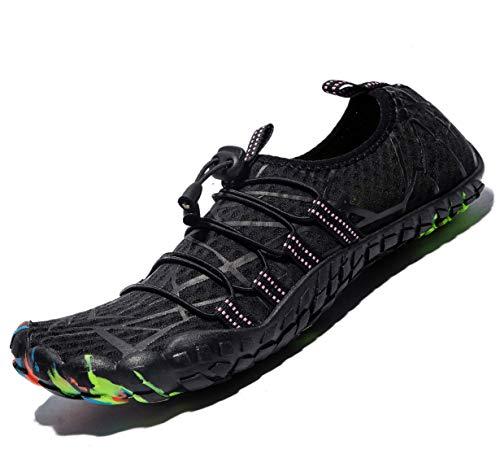 (Mens Women Water Sport Shoes Barefoot Quick-Dry Aqua Socks for Beach Swim Surf Yoga Exercise, 11 M US Women / 9.5 M US Men)