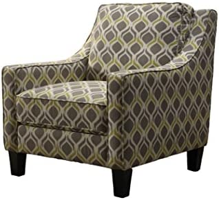 Best Master Furniture Tori Upholstered Fabric Living Room Arm Chair