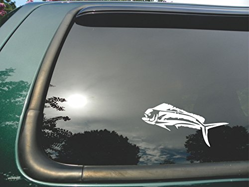 Ocean Tom Drum (Mahi Mahi- Die Cut Vinyl Window Decal/sticker for Car or Truck 4