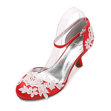 Noche Vestido Bowknot Heelivory Primavera amp;Amp; Shoes Las Mujeres'S Satin Plana 5 CN43 RTRY Verano EU42 US10 Champán Rhinestone UK8 Confort Rubí Boda De Azul 5 Wedding qYxPan6z
