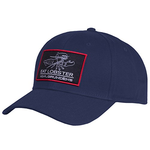 (Grundéns Eat Lobster Wear Ball Cap, Navy - One Size)