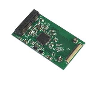 Amazon.com: Tarjeta de adaptador mSATA SSD a 40 Pin ZIF como ...
