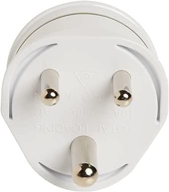 Korjo International Power Adapter, 4.2 Centimeters, White