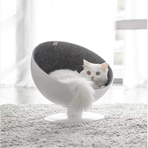 PINIX PNX XIAOMI Boss Cat Cat Cat Boss Fiber Spinning Pet Nest bianca Minimalist Interactive Pet Bed 70395d