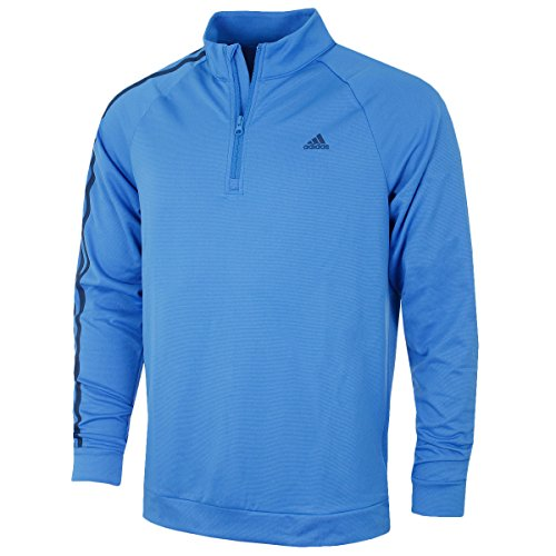 Adidas 2016 3-Stripes Sleeve 1/4 Zip Pullover Lightweight Mens Golf