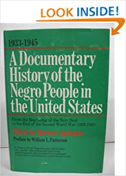 Book A Documentary History Of The Negro People In The United States Volume 3