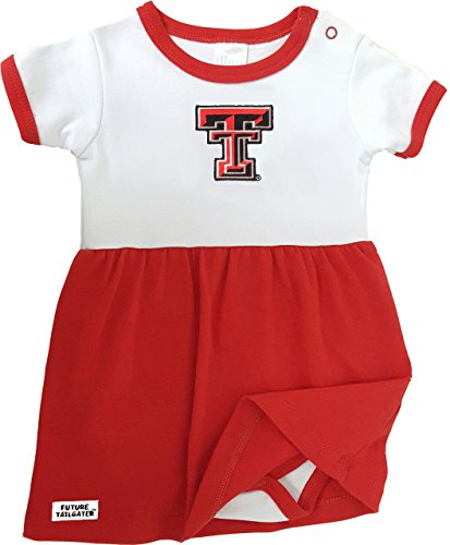 Texas Tech Baby Gear - Future Tailgater Texas Tech Red Raiders Onesie Baby Dress (Newborn)