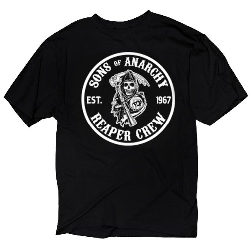 Sons of Anarchy Mens Cities T-Shirt - X-Large