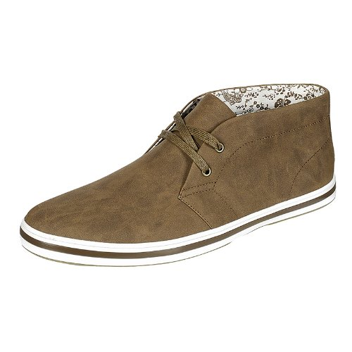 Arider AR3061 Men's High-Top Casual Shoes -BROWN-8.5