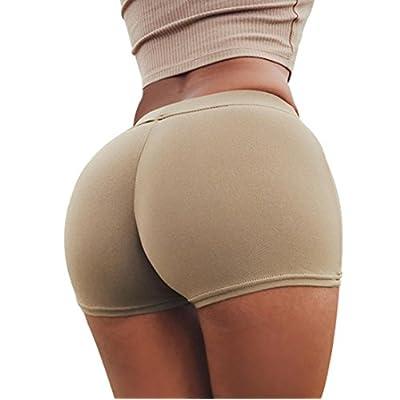 Discount Kollmert Hot Pants, Women Butt Lifting Sport Gym Workout Waistband Skinny Yoga Shorts
