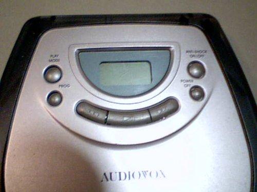 Venturer Electronics, Inc. Venturer Audiovox Model:dm8903-40 Portable Cd Player Compact Disc Digital Audio 40 ESP 40 Second electronic Skip Protection Cd Player (Grey/black Color Version) by Venturer Electronics, Inc. Venturer Audiovox (Image #7)