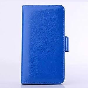 GDW el color del caramelo de cuerpo completo estuche de cuero pu con ranura para tarjeta y la función de la carpeta para el iphone 5 / 5s , Rose Pink