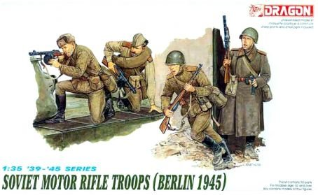 Dragon Soviet Motor Rifle Troops (Berlin 1945)