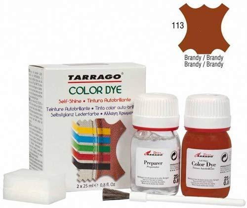 Tarrago Self Shine Color Dye and Preparer 25Ml. Brandy #113