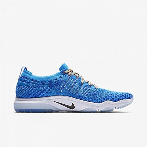 Nike Womens Air Zoom Uredd Flyknit Byen 902166 401 Blå / Hvit