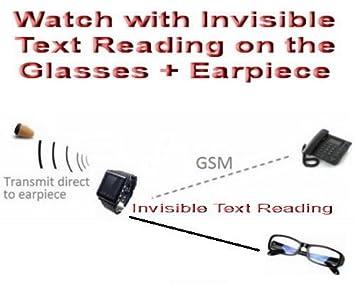 oreillette espion talkie walkie