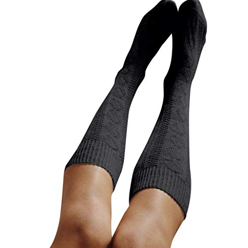 OVER the KNEE Socks,PASHY Girls Ladies Women Thigh High OVER the KNEE Socks Long Cotton Stockings Warm ()