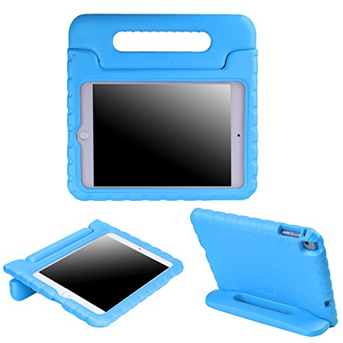 HDE Case for iPad Mini 4 - Shockproof Case for Kids with Stand Convertible Lightweight Cover for 4th Generation Apple iPad Mini 4-2015 Release (Blue)