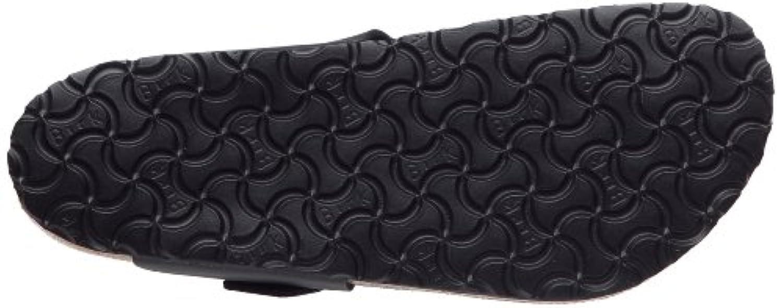 Birkenstock Medina Birko-Flor, Style-No. 46791, Unisex Thong Sandals, Black, EU 39, normal width