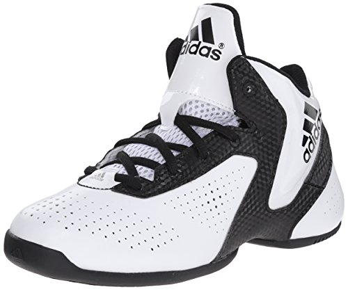 adidas Performance NXT LVL SPD Next Level Speed 3 K Basketball Shoe (Little Kid/Big Kid), White/Black/White, 10.5 M US Little Kid (Adidas Next Level Speed)