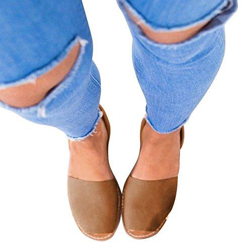Flachen Sandalen Braun Plateau 44 Damen Rosa Sommer Schwarz Weiß Knöchelriemchen Elegante Espadrille 34 Sommersandalen Flop Schuhe Sandaletten Frauen Gr Bequeme Flip xtrt0qRw