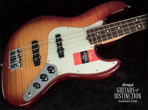 Fender 2017 Limited Edition American Professional Jazz Bass FMT Electric Bass Guitar (SN:US17035582)