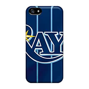 Iphone 5/5s HHI1658nDOp Customized Stylish Tampa Bay Rays Skin Best Hard Cell-phone Cases -JasonPelletier