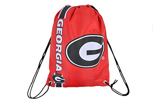 Official National Collegiate Athletic Association Fan Shop Authentic Drawstring NCAA Back Sack (Georgia Bulldogs) (Georgia Bulldogs Ncaa Drawstring)