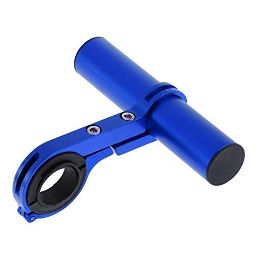 IPOTCH 自転車 ハンドルバー エクステンダー ブラケット ライトホルダー 10cm 電話マウント 軽量 滑り止め