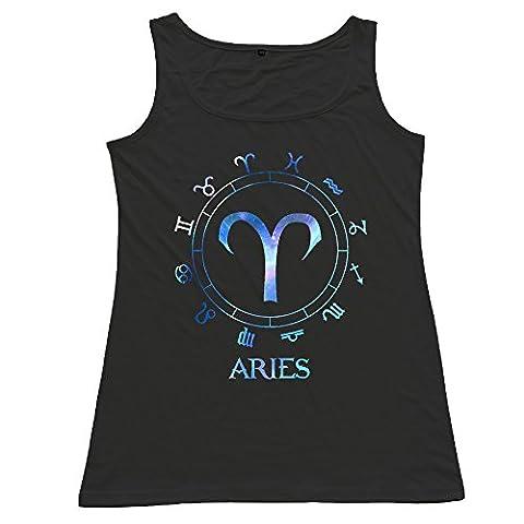 Aries Vest Top Girls T-Shirts Cheap (Aries Blackbird X10)