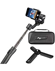 Feiyu Vimble 2 estabilizador de cardán de Mano Extensible de 3 Ejes para Smartphone, iPhone X/XS/8/7 Plus/6, Samsung Galaxy S9/S8 y videocámaras GoPro