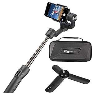 Feiyu Vimble 2 Estabilizador de Cardán Extensible,Gimbal con Varilla de Estabilización de Trípode para Smartphone, iPhone, Samsung Galaxy S7, S8, Mi 5 Y Cámaras de acción GoPro Hero 5,4,3