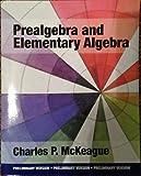 Prealgebra and Elementary Algebra