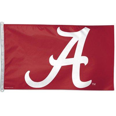 (WinCraft NCAA University of Alabama WCR25810012 Team Flag, 3' x 5')
