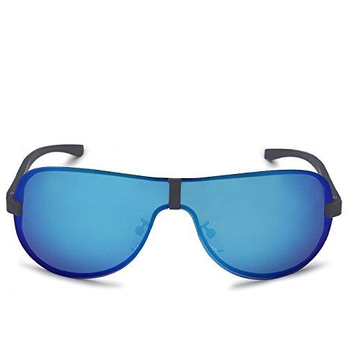 Lunettes De Soleil Lady Lunettes De Conduite Polarisées Cadre Noir Bleu Glace 1bV4x0nlh