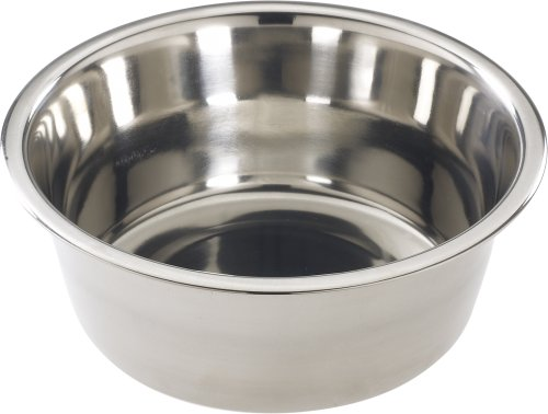 Ethical 2-Quart Mirror Finish Stainless Dish (2 Quart Dog Bowl)