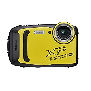Fujifilm FinePix XP140 Waterproof Digital Camera w/16GB SD Card - Yellow