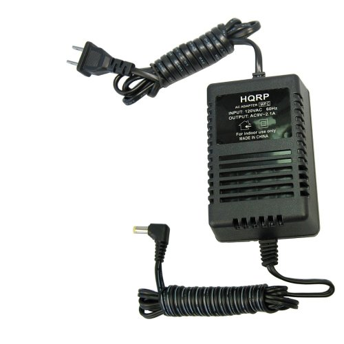 HQRP AC Adapter Works with Rocktron 006-1101 Replifex, Xpression, Blue Thunder, MIDI Mate, All Access, Banshee, Banshee 2, Hush Super C, Gainiac 2, Intellifex, Power Supply Cord 0061101