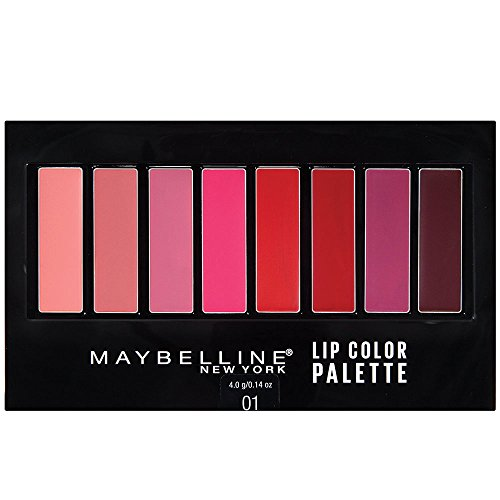Maybelline Lip Studio Lip Color Palette, 0.14 oz.