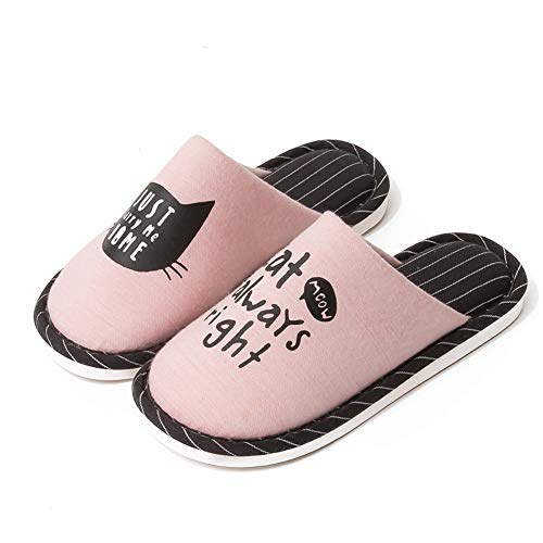 Chaussons pour Rose pour Chaussons Femme Femme GONGYU GONGYU 7XqpnnwI