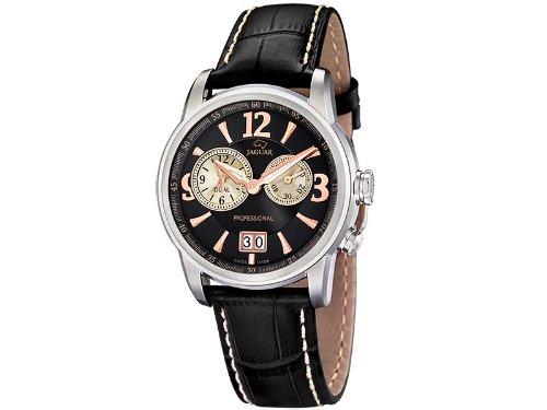Jaguar j619/4 reloj para Hombre Analógico de Cuarzo con brazalete de Piel de vaca J619/4: Amazon.es: Relojes