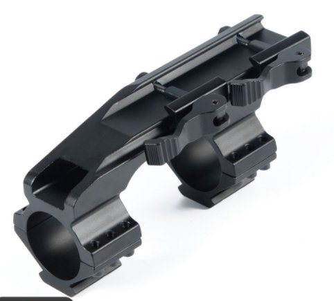 Green Blob Outdoors (30mm) Scope Mount Dual Cantilever Flat