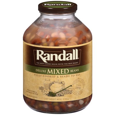 Randall Mixed Beans, Deluxe 48 oz (Pack of 6) by Randall